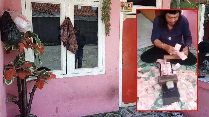 Viral, Herman Si Gondrong yang Gandakan Uang Kini Jadi Tersangka, Sang Istri Beri Pengakuan Ini