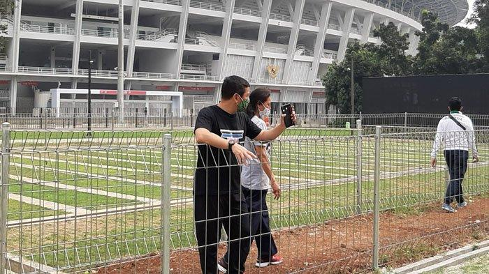 Datang ke GBK, Kadispora Kota Bogor Akui Stadion Pajajaran Tertinggal Sangat Jauh
