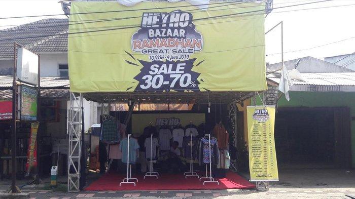 Brand Lokal Bogor Heyho Gelar Bazaar Ramadan, Ada Promo Diskon Hingga 70 Persen