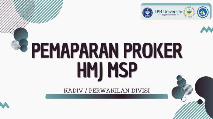 Berbagi Pengalaman, Himasper IPB University Studi Banding dengan Universitas Maritim Raja Ali Haji