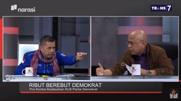 Kubu Moeldoko Ingin Duduki Kantor Demokrat di Proklamasi, Hinca Panjaitan Tunjuk-tunjuk Darmizal