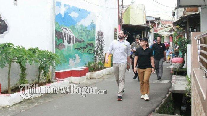 Blusukan ke Kelurahan di Kota Bogor, Pengusaha Muda Ajak Pemuda Babakan Pasar Berwirausaha
