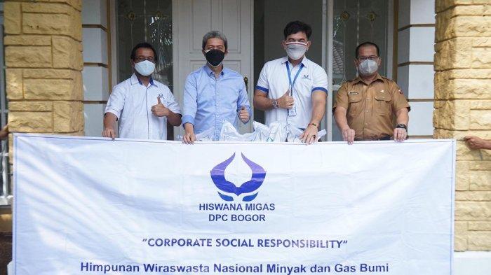 Bantu Warga Terdampak Covid-19, Hiswana Migas Salurkan 1,5 Ton Beras untuk Kota Bogor