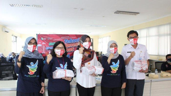 Peringatan HKN ke-56 Kota Bogor, Satukan Tekad Menuju Indonesia Sehat, Berjuang Melawan Covid-19