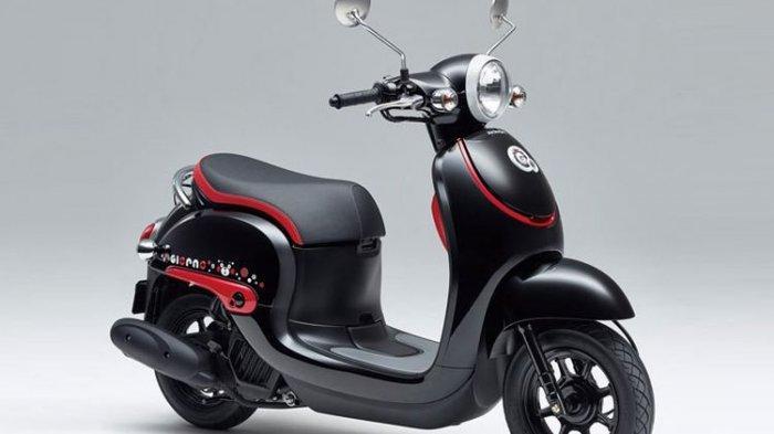 Intip Honda Giorno, Lebih Bulat dari Scoopy