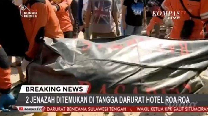BREAKING NEWS: 2 Jenazah Dievakuasi Dari Hotel Roa Roa, Satu Dikenali Keluarga dari Jari Kelingking