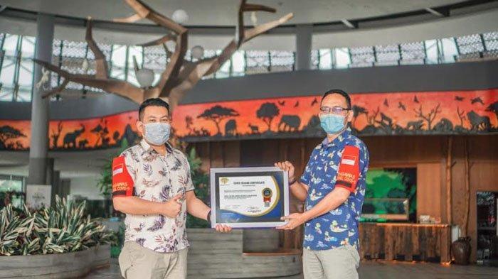 Bebas Covid-19, Hotel Royal Safari Garden Terima Covid Secure Certificate