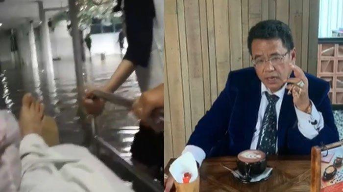 Pasien Rumah Sakit Didorong Terjang Banjir di Jakarta, Hotman Paris Prihatin : Nasib Bangsaku
