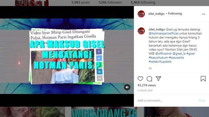 Bongkar Curhatan <a href='https://palembang.tribunnews.com/tag/gisel' title='Gisel'>Gisel</a>, <a href='https://palembang.tribunnews.com/tag/hotman-paris' title='HotmanParis'>HotmanParis</a> Blak-blakan soal Kejadian 3 Tahun Lalu