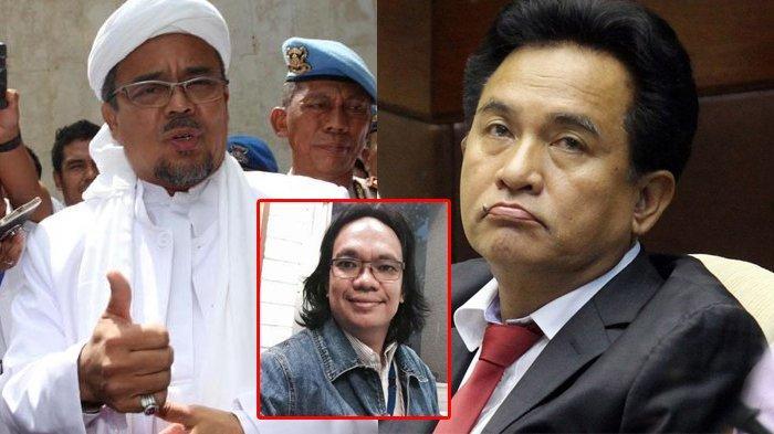Yusril Beberkan Percakapannya dengan Habib Rizieq Shihab Soal Keislaman Prabowo, Gus Nadir: Tak Etis