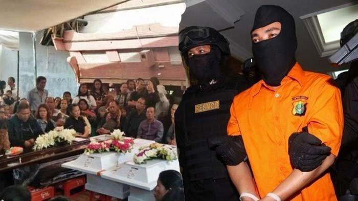 Prarekonstruksi Pembunuhan Satu Keluarga di Bekasi Digelar di Polda Metro Jaya