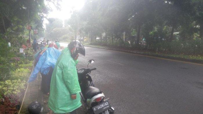 Waspada, Sebagian Wilayah Bogor Diguyur Hujan Pagi Ini