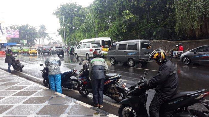 Hujan Deras di Kawasan SSA Kota Bogor