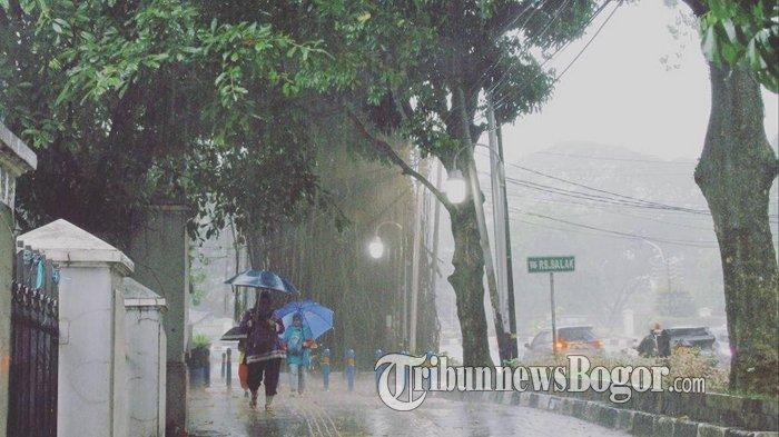 Peringatan Dini BMKG Selasa 18 Februari 2020, 7 Wilayah Ini Berpotensi Hujan Lebat