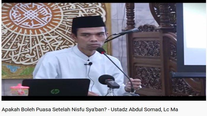 Hukum Bayar Utang Puasa atau Qadha Ramadhan Setelah Nisfu Syaban, Haram atau Boleh? Ini Kata UAS