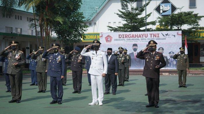 HUT TNI ke-76, Dedie Sampaikan Terima Kasih Sudah Amankan Kota Bogor