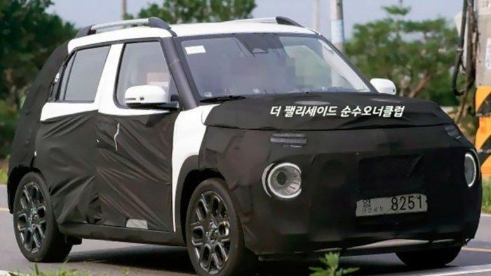 Dikabarkan Bakal Meluncur 15 September 2021, Ini Tampang SUV Mini Hyundai Casper