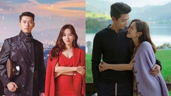 Viral di Korea, Foto-foto Mesra Hyun Bin dan Son Ye Jin untuk Iklan Bikin Heboh