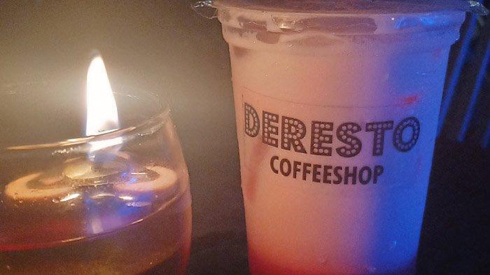 Bikin Penasaran Pengunjung, Deresto Coffee Shop Sediakan Minuman I Love You 3000 Latte