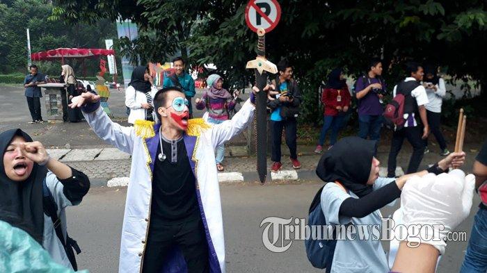 Kemeriahan Parade Pembukaan IPB Art Contest 2018, Pesta Kostum Hingga Pamer Koleksi Ular