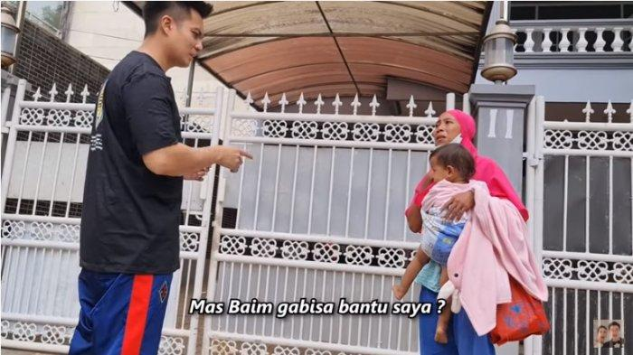 Wanita Bawa Anak Minta Bantuan Tebus Motor di Leasing, Baim Wong Kesal : Ibu Tau Resikonya