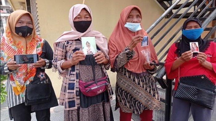 Empat ibu rumah tangga warga Jalan Suka Karya Lorong Kayu Lurus RT 045 RW 009 Kelurahan Sukarami Kecamatan Sukarami Palembang yang saling bertetangga, melaporkan empat anak gadis mereka yang hilang sejak Minggu (16/5/2021).