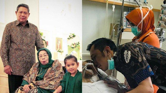 Kesedihan Ibas Tak Temani Eyang Habibah di Saat Terakhir, Menantu SBY: Doa Kami Selalu Padamu