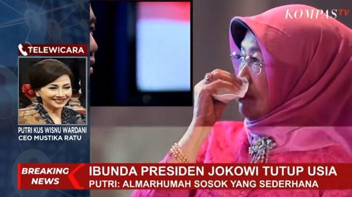 Kenangan saat Ibunda Jokowi Menangis Lihat Kejutan dari Putranya, Mendiang : Aduh Saya Dikerjain