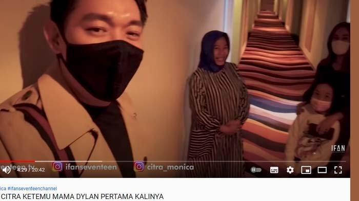 Ifan Seventeen kenalkan Citra Monica ke ibunda Dylan Sahara