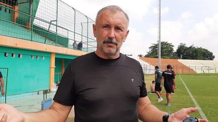 Igor Nikolayevich Kriushenko Minta Semua Pemain PS Tira Persikabo Tingkatkan Kualitas Penampilan