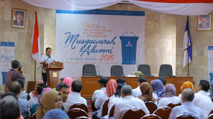Hangatnya Halal Bil Halal Ikatan Keluarga Alumni SMAN 1 Kota Bogor