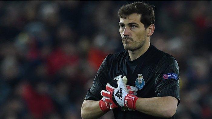 Porto Terkapar, Iker Casillas Cetak Rekor Pribadi