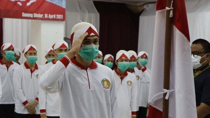 34 Napi Terorisme Ucap Ikrar Setia NKRI di Lapas Gunung Sindur Bogor