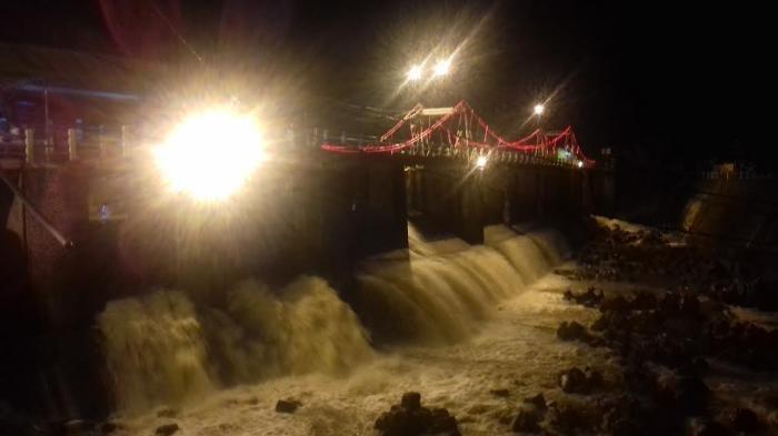 UPDATE Tinggi Muka Air Bendung Katulampa Bogor, Malam Ini Terpantau Normal