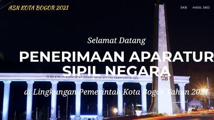 Jadwal SKD CPNS Bogor 2021 Lengkap dengan Lokasi Tes, Cek Lagi Dokumen yang Harus Dibawa