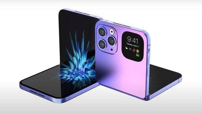 Siap-siap! Apple akan Luncurkan iPhone Layar Lipat Tahun Depan, Siap Saingi Samsung Z Flip3