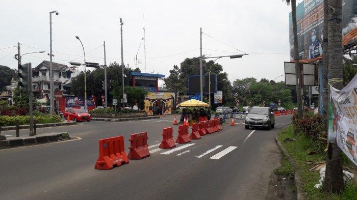 Sepekan Ramadhan, Lalu Lintas Kendaraan di Jalan Raya Puncak Bogor Lengang