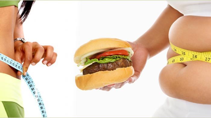 Ilustrasi mengatur berat badan