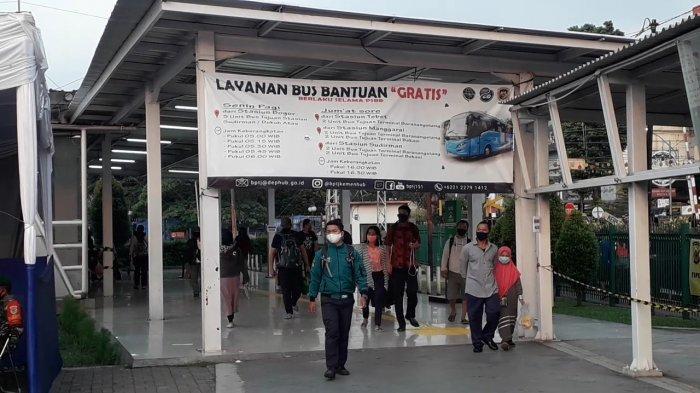Antisipasi Lonjakan Penumpang Senin Besok, 150 Bus Akan Disiagakan di Stasiun Bogor