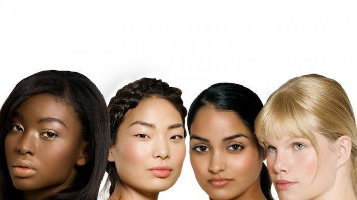 ilustrasi perbedaan warna kulit