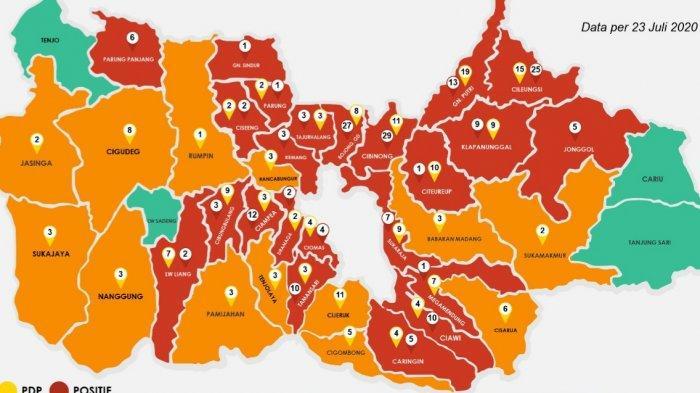 Didominasi Laki-Laki, 60 Persen Pasien Positif Covid-19 di Kabupaten Bogor Berasal dari Jakarta