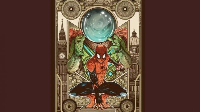 Ilustrasi Karya Anak Bangsa Ini Berhasil Jadi Pemenang Fan Art Poster Spider-Man Marvel