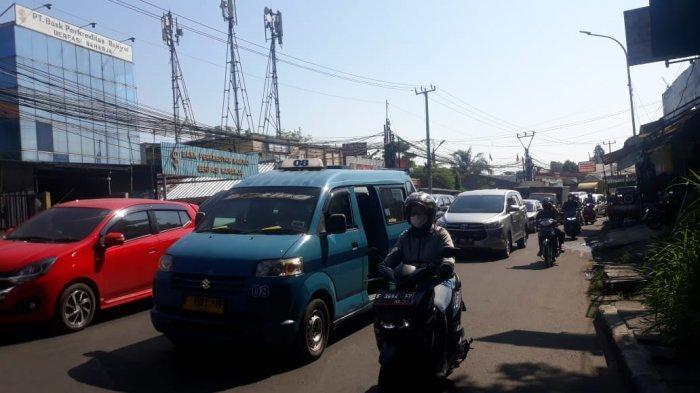 Imbas Penyekatan Ganjil Genap, Lalu Lintas Jalan KS Tubun Bogor Macet Parah