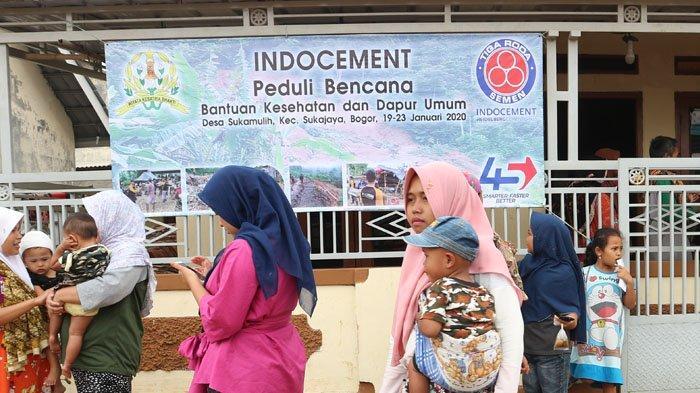 Indocement Bantu Korban Longsor di Sukajaya Bogor, Dirikan Dapur Umum dan Posko Kesehatan