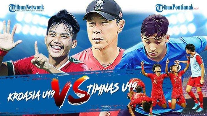 Live Streaming Kroasia Vs Timnas U19 Indonesia Malam Ini, Siaran Langsung NET TV Streaming Mola TV