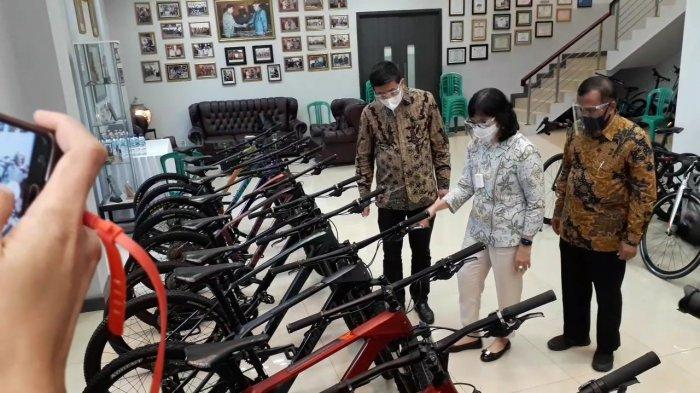 Jadi Tren Saat Pendemi, Kementrian Perindustrian Dorong Penguatan IKM dalam Industri Sepeda di Bogor