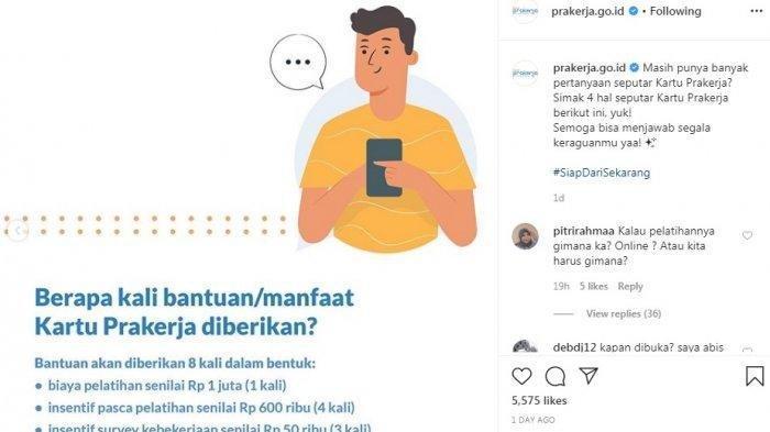Bocoran Jadwal Kartu Prakerja Gelombang 9, Simak Tipsnya Agar Langsung Lolos