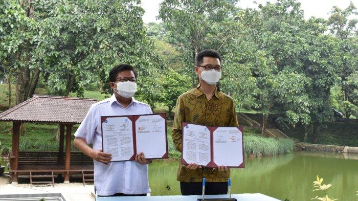 Masih Pandemi, IPB University Teken Kerjasama dengan PT Parkland World Indonesia di Telaga Inspirasi