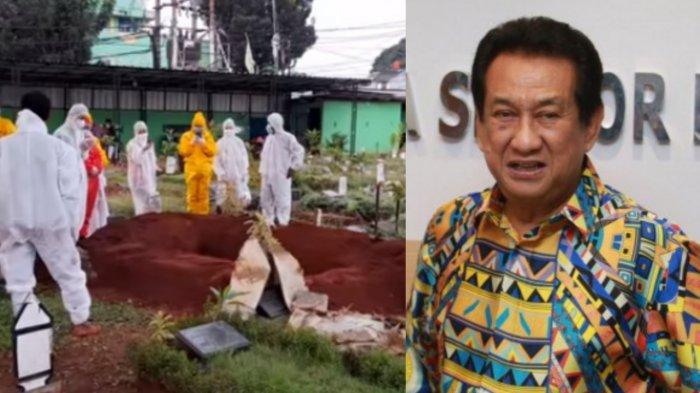 Tangis Anwar Fuady Lihat Pemakaman Anak Dekat Pusara Istri, Keinginan Terakhir Almarhum Diwujudkan