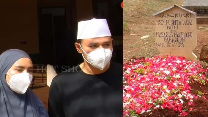Isak Tangis Kartika Putri Depan Makam Ibunda, Istri Habib Usman Ngaku Trauma : Gak Mau Lengah Lagi